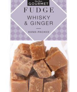 Whiskey and ginger fudge